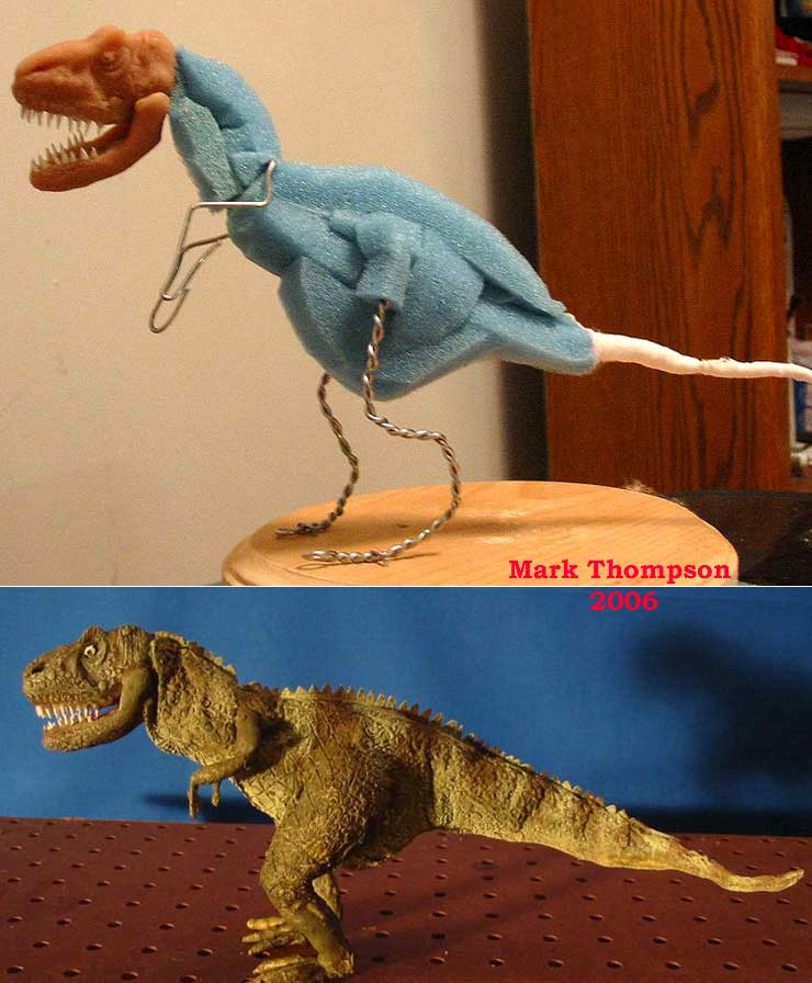 Stop Motion Dino Puppet